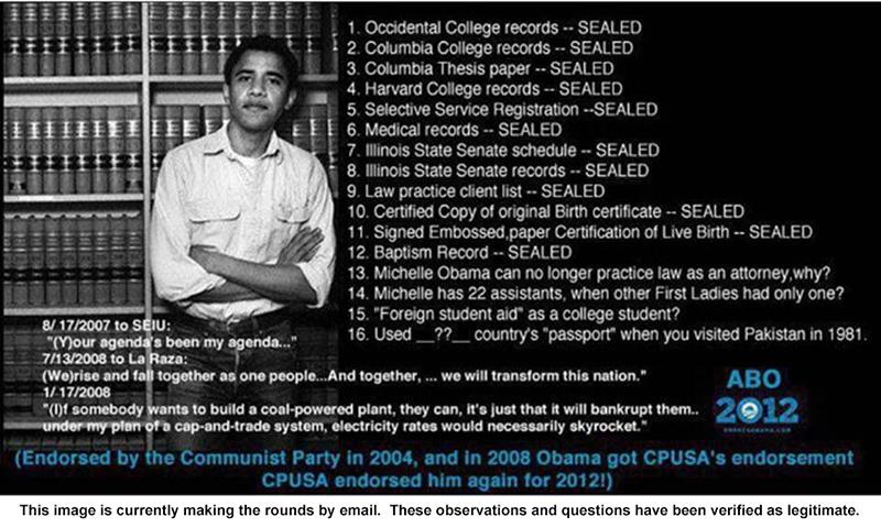 Obama mysteries