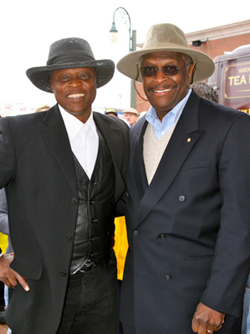 Lloyd Marcus and Herman Cain